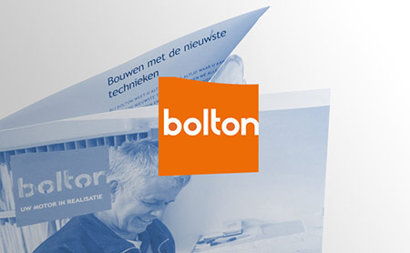 Bolton : renovatie van de corporate folder